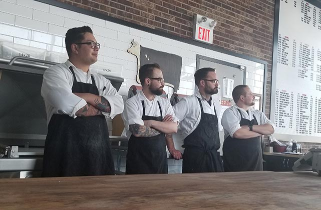 Master Meats team of professional butchers
